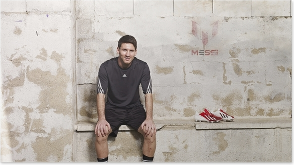 de5818e9 billy goat pro 675 v series Plakat standard norge oslo Lionel Messi