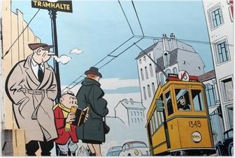 Plakat Murmaleri i Brussel