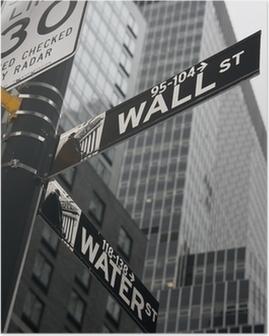 New York - Wall Street Plakat