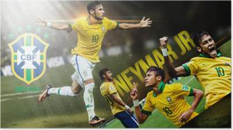 Neymar Plakat