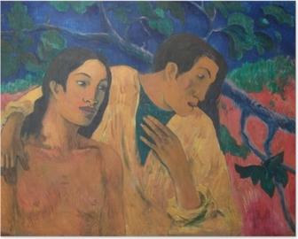 Paul Gauguin - Flyvningen Plakat