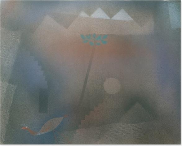 Paul Klee - Bird vandrer Plakat -