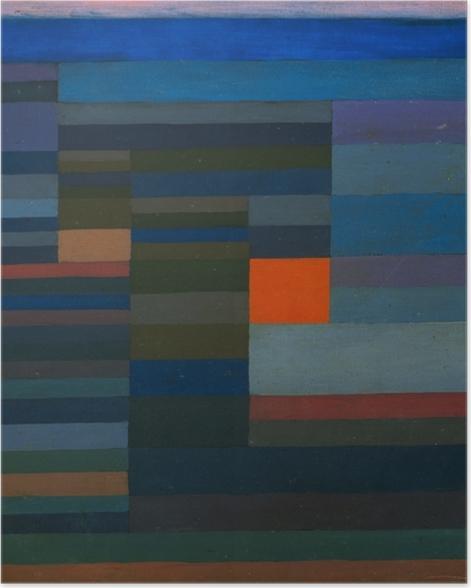 Paul Klee - Brand i aften Plakat -