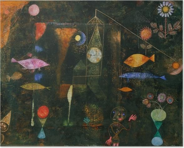 Paul Klee - Fish Magic Plakat -