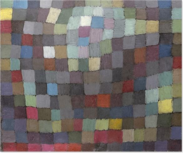 Paul Klee - Kan billedet Plakat -