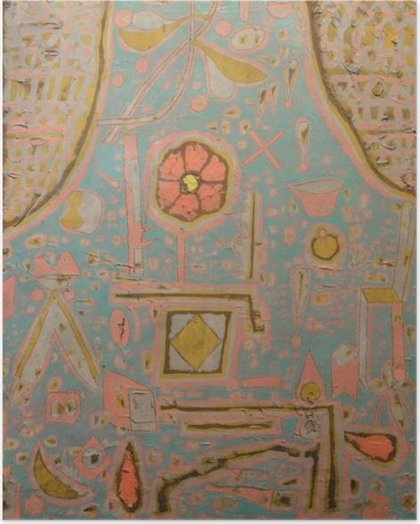 Paul Klee - Opblomstring Plakat -