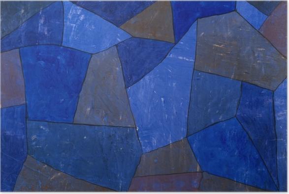 Paul Klee - Rocks at Night Plakat -