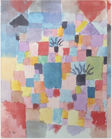 Paul Klee - Suothern (tunesisk) Haver Plakat -