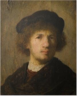 Rembrandt - Selvportræt Plakat