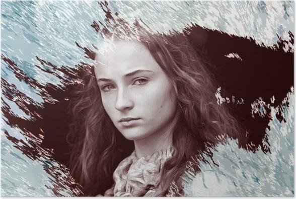 Sansa Stark Plakat -
