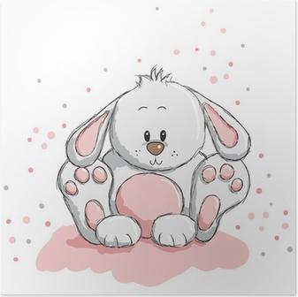 Sød kanin Plakat