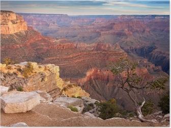 Solopgang over Grand Canyon Plakat