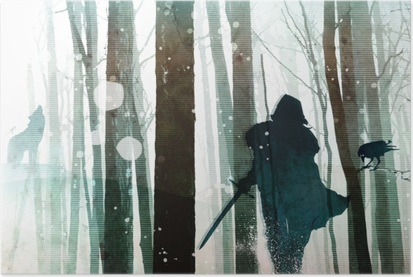 Spil af Thrones Plakat -