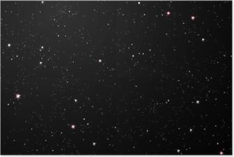 Stjerneklar nat Plakat