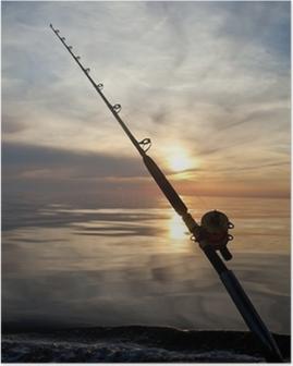 Stort spil fiskeri Plakat
