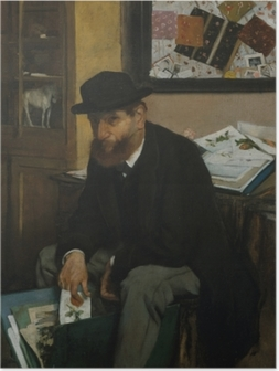 The Collector of Prints Plakat