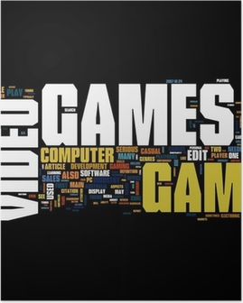 Plakat Videospill