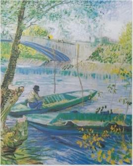 Vincent van Gogh - Fiskeri i foråret Plakat