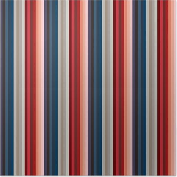 3d46469b Plakat Vintage retro usa farge stil sømløse striper mønster. abstrakt  vektor bakgrunn.