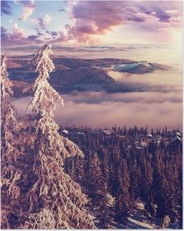 Vinter i Norge Plakat