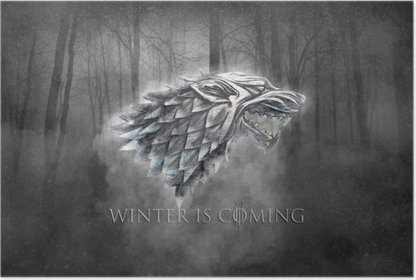 Vinteren kommer Plakat -