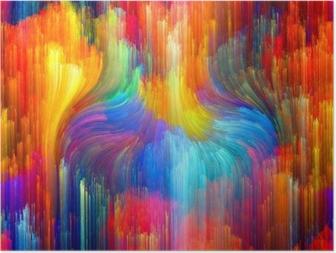 Plakat Virtual Color