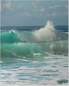 Wave Plakat