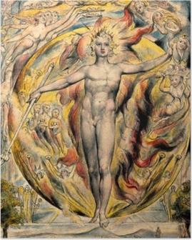 William Blake - Moses Plakat