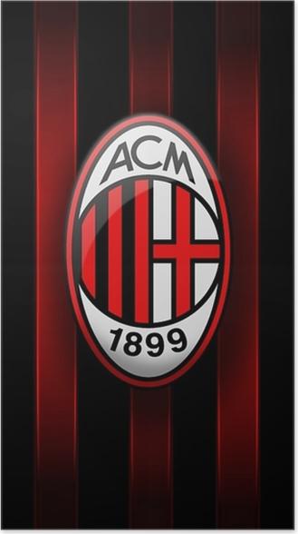 667e6f3ff Plakat A.C. Milan • Pixers® - Żyjemy by zmieniać