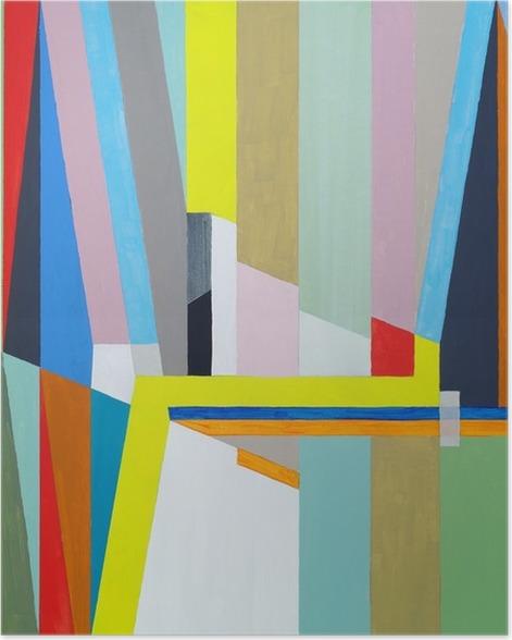 Plakát Abstraktní malbu - Koníčky a volný čas