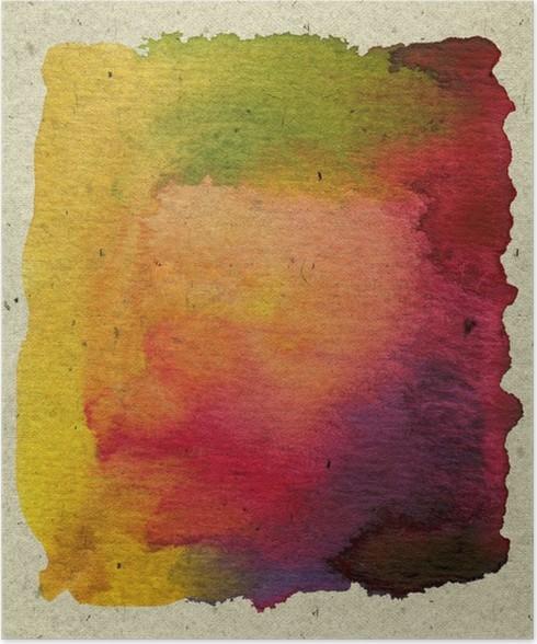Plakát Abstraktní texturou akvarel barvy - Pozadí