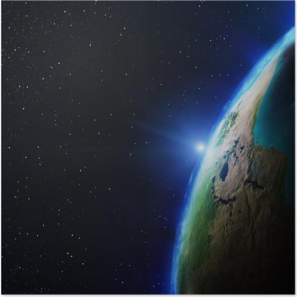 Plakát Africa - Meziplanetární prostor