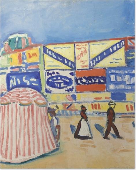 Plakat Albert Marquet - Afisze w Trouville - Reproductions