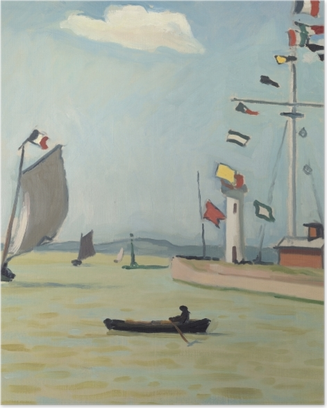 Plakat Albert Marquet - Honfleur - Reproductions