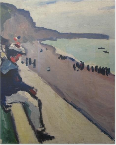 Plakat Albert Marquet - Plaża w Fécamp - Reproductions