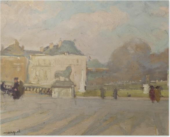 Plakat Albert Marquet - Widok na Pałac Luksemburski - Reproductions