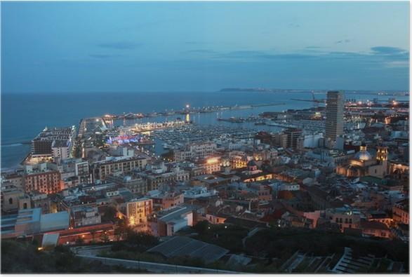 Plakát Alicante / Alacant - Evropa