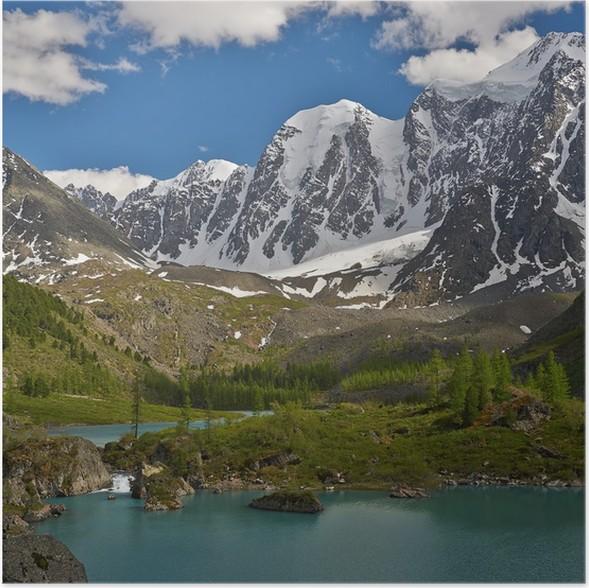 Plakát Altaj - Hory