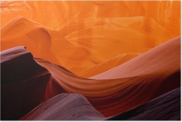 Plakát Antelope Canyon slot kaňony - Amerika