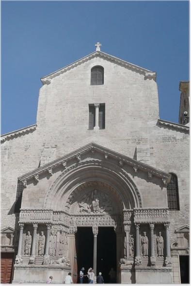 Plakát Arles - Veřejné budovy