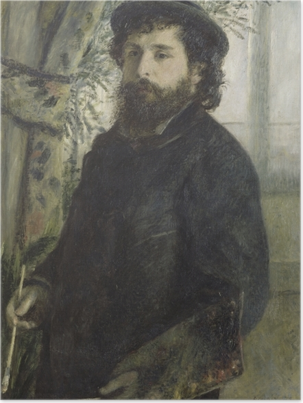 Plakat Auguste Renoir - Portret Moneta - Reproductions