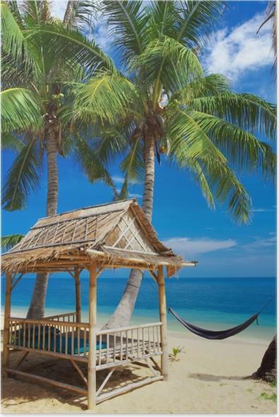 Plakát Bambus chata - Prázdniny