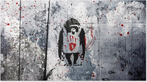 Plakat Banksy - Tematy
