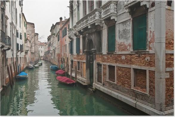 Plakát Benátky 1302 - Evropská města