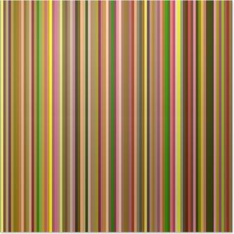 Plakát Barvy duhy abstraktní vodorovné linky na pozadí