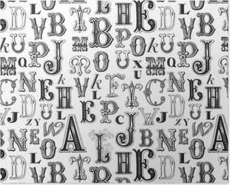Plakát Bezešvé vzor - vzor zahrnuty do krabice políčka