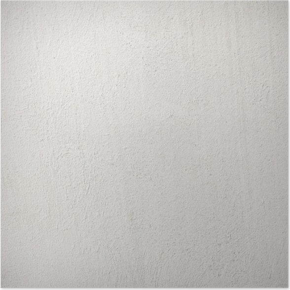 Plakát Bílá zeď textura s jemnými trhlinami, náměstí pozadí - Témata