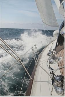 Plakat Burza na morzu
