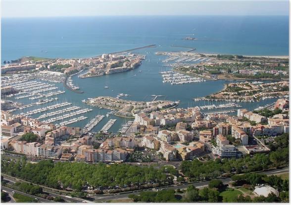 Plakát Cap d'Agde, Le Port - Infrastruktura