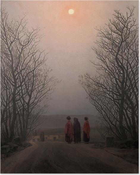Plakat Caspar David Friedrich - Poranek Wielkanocny - Reproductions